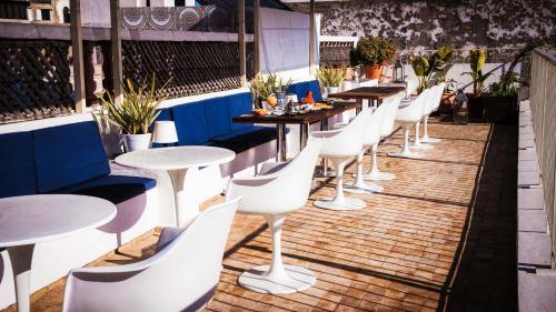 Restaurant ou autre lieu de restauration dans l'établissement Dar Shâan