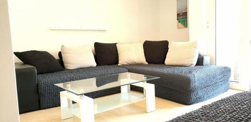 Гостиная зона в Apartments Ana