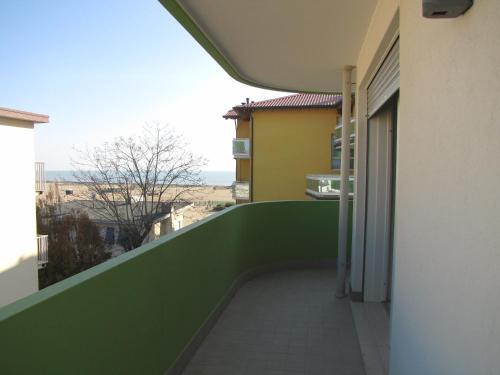 Balkón nebo terasa v ubytování Residence Gianka