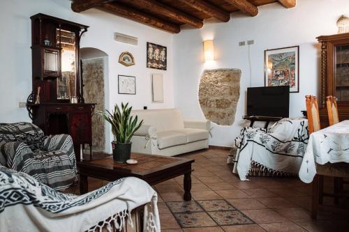 Area soggiorno di Filippo's Holiday House