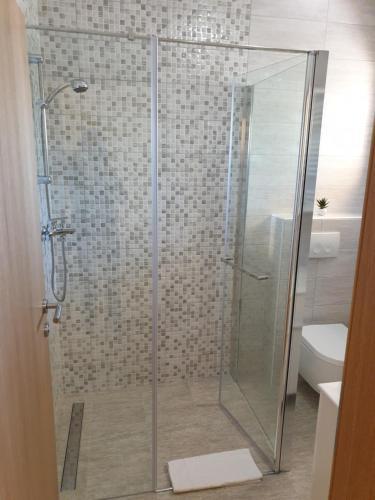 Kúpeľňa v ubytovaní Captain's Club