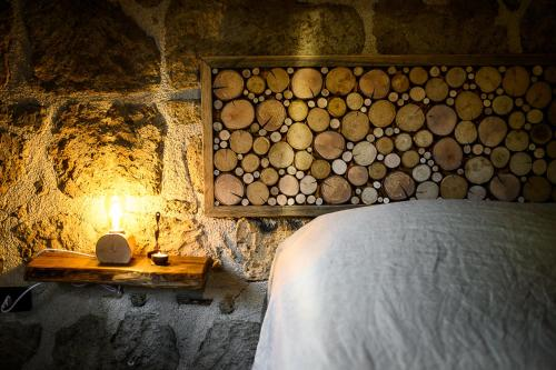 A bed or beds in a room at Agriturismo Biologico Sant'Egle