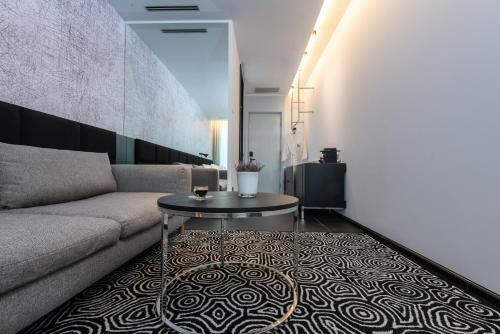 A seating area at NYX Herzliya