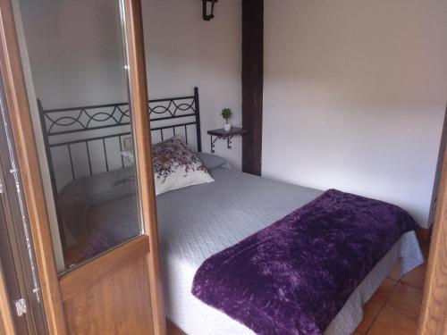 Cama o camas de una habitación en HOTEL RURAL SIERRA DE FRANCIA