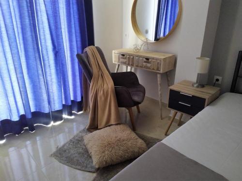 Χώρος καθιστικού στο Roza's Home and Studios