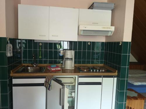 A kitchen or kitchenette at Haus Franziska