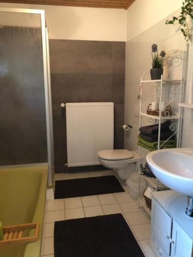 Ein Badezimmer in der Unterkunft Ferienwohnung Laufenburg