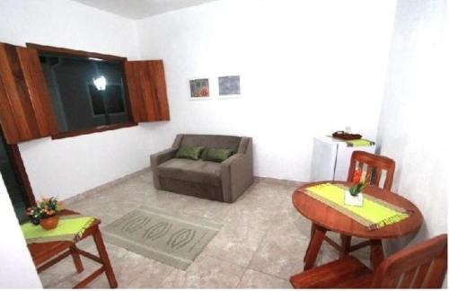 Zona de estar de Loft Vila do Sossego