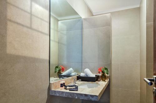 A bathroom at All Blue