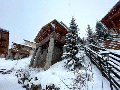 Chalet Patineur during the winter