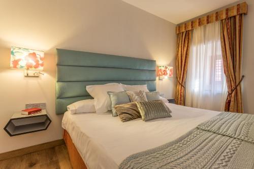 Cama o camas de una habitación en Izan Trujillo