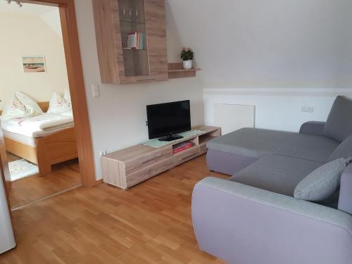 TV/Unterhaltungsangebot in der Unterkunft Gästehaus Anna