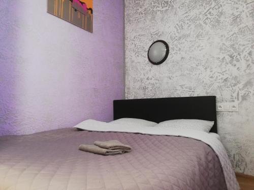 A bed or beds in a room at Lorf Hostel&Coffee