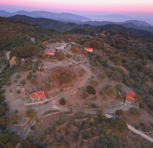 A bird's-eye view of Toumba Eco Farm Guesthouses