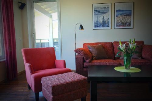 En sittgrupp på Holiday Club Åre Apartments