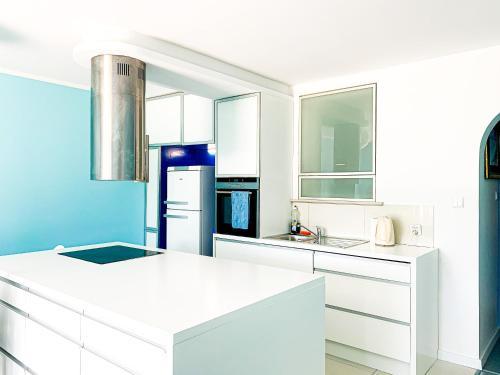 Kuchnia lub aneks kuchenny w obiekcie Sopockie Santorini
