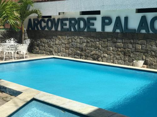The swimming pool at or near Arcoverde Palace Hotel