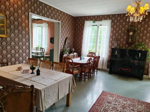 En restaurang eller annat matställe på Saltvik Bed & Breakfast