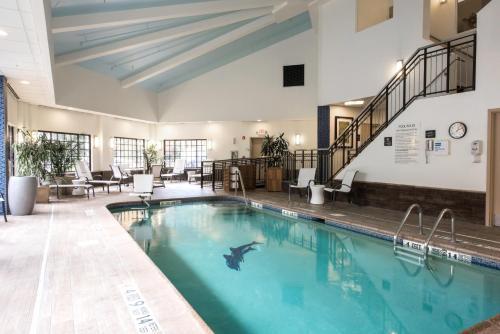 The swimming pool at or near Hampton Inn Albany-Western Ave/University Area, NY
