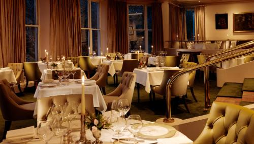 A restaurant or other place to eat at Sheen Falls Lodge