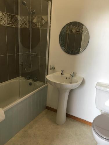 A bathroom at York House Durham