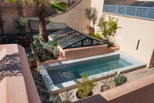 The swimming pool at or near Riad Les Hirondelles Boutique Hotel