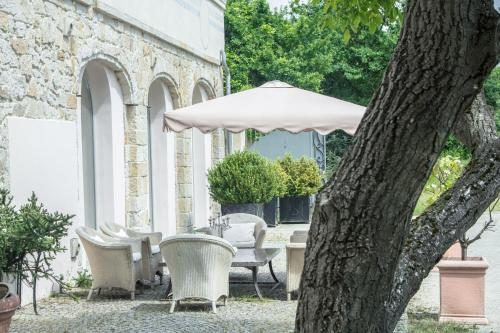 A patio or other outdoor area at Villa Toscana Luxury Loft
