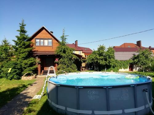 The swimming pool at or near House Na Prokhladnoy