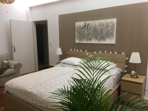 Postel nebo postele na pokoji v ubytování Villa Boscoverde