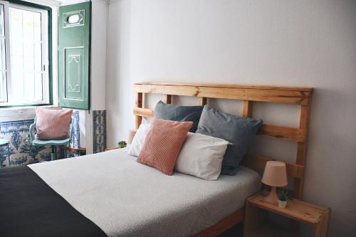 Cama o camas de una habitación en Hub New Lisbon Hostel