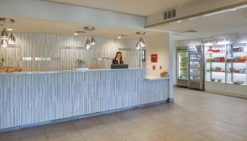 The lobby or reception area at SpringHill Suites Prescott