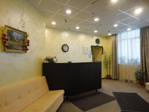 Лобби или стойка регистрации в Отель Андреевский
