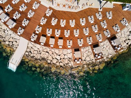 A bird's-eye view of Radisson Blu Resort & Spa