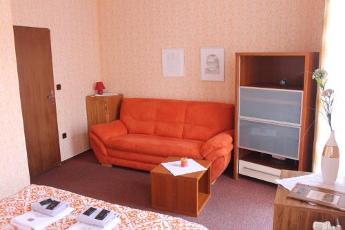 Posezení v ubytování Hotel Panský Dům Žamberk