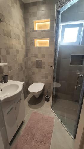 A bathroom at Apartments Banic
