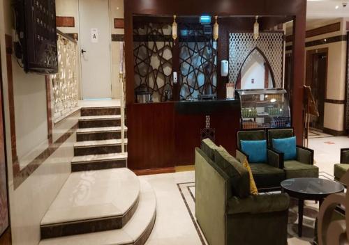 منطقة الاستقبال أو اللوبي في فندق روتانا المسك