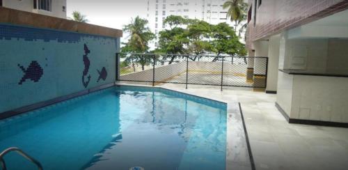 The swimming pool at or close to Boa Viagem Flat 50 mts do MAR ! Portaria 24hs