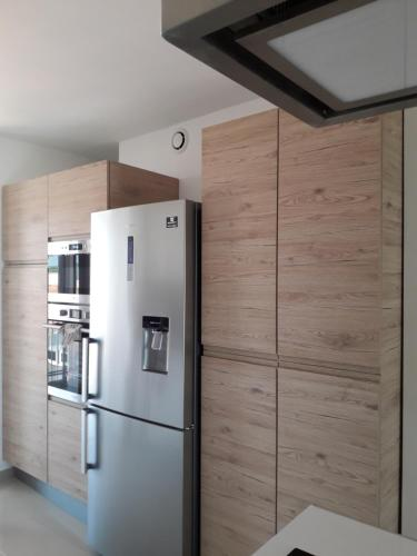 A kitchen or kitchenette at Appartement le Rêve-Catalan