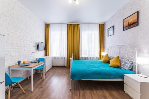 Гостиная зона в  La Casa Di Bury Apartments 2