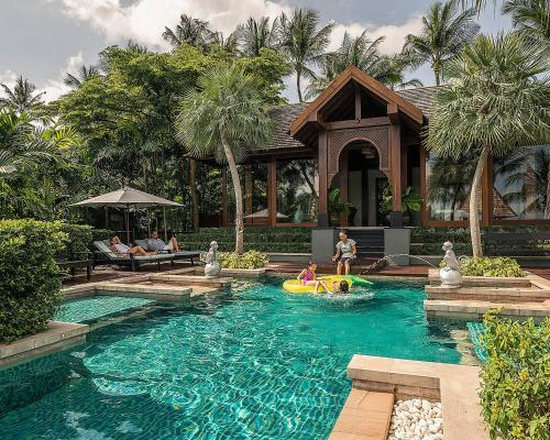 Piscina en o cerca de Four Seasons Resort Koh Samui