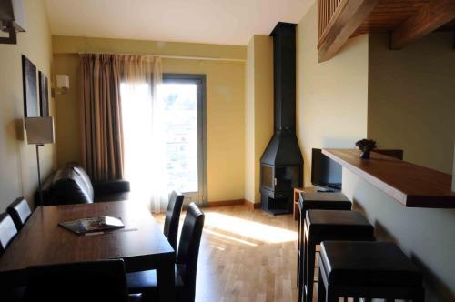 Zona de estar de Appart hotel & spa Cerdanya