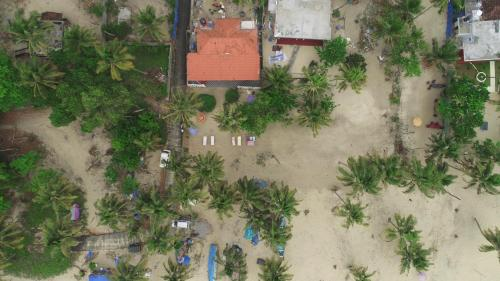 A bird's-eye view of Marari Praise Beach Front Homestay