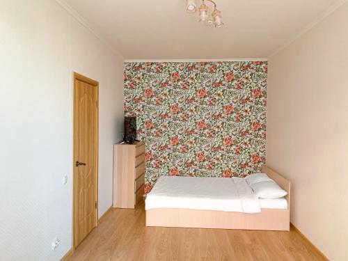 Кровать или кровати в номере Sweet Home квартира в Видном