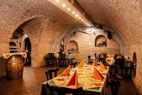Restaurace v ubytování Penzion U Králíků