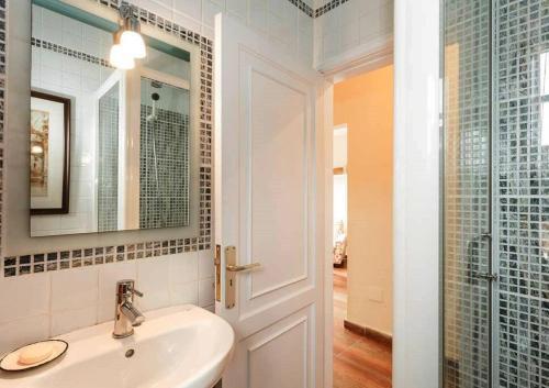 A bathroom at Edificio Lodero