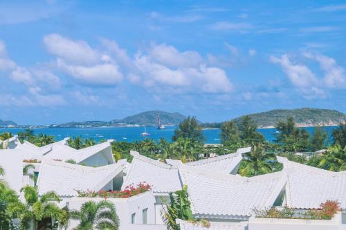 A bird's-eye view of Palace Resort Villas Yalong Bay Sanya