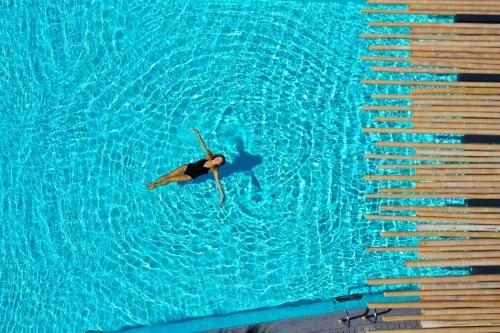The swimming pool at or near Tropicana Hotel Mykonos
