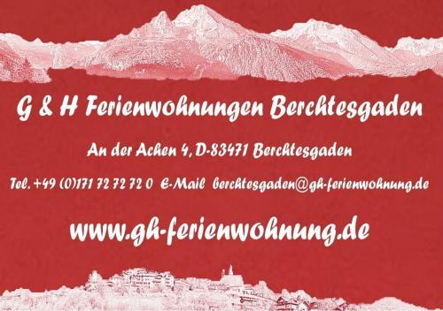 G & H Ferienwohnungen Appartement Obersalzberg
