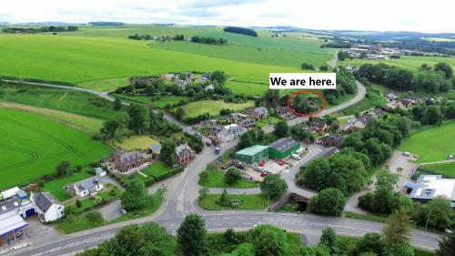 A bird's-eye view of Deveron Lodge Guest House