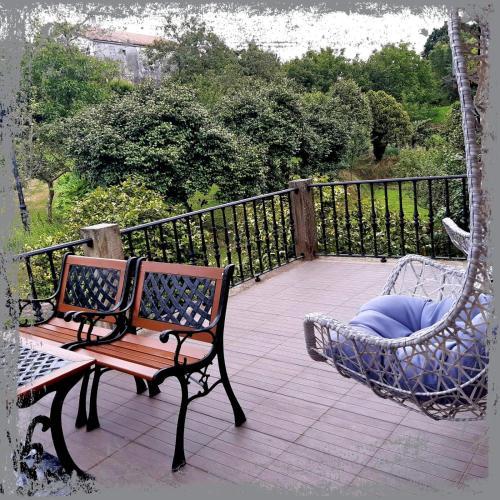 Un balcón o terraza de Casa de Casal